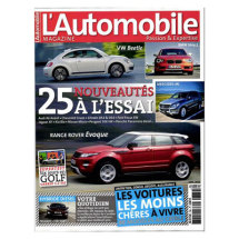 "1 an d'abonnement à ""L'Automobile Magazine"""